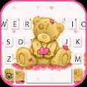 Lovely Ragged Bear Keyboard Theme icon