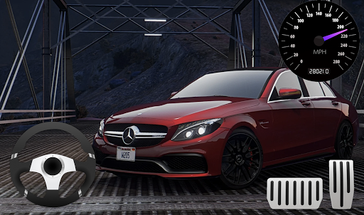 Parking Mercedes C63 AMG City Drive 1.0 screenshots 4