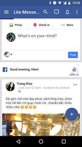 Messenger for Facebook 1.06052018 screenshots 1