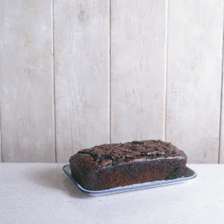 Quadruple Chocolate Loaf Cake.