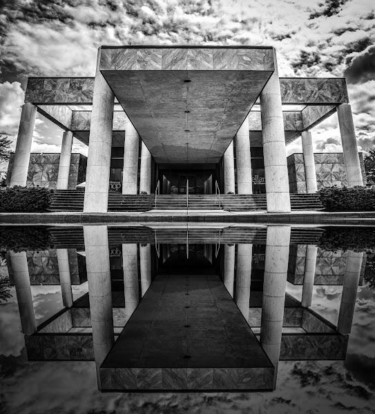 Photo: The Castellani Art Museum of Niagara University Reprocess of an older shot. +Gino Barasa& +Thomas Hawkyou like the mirror effect? ;)