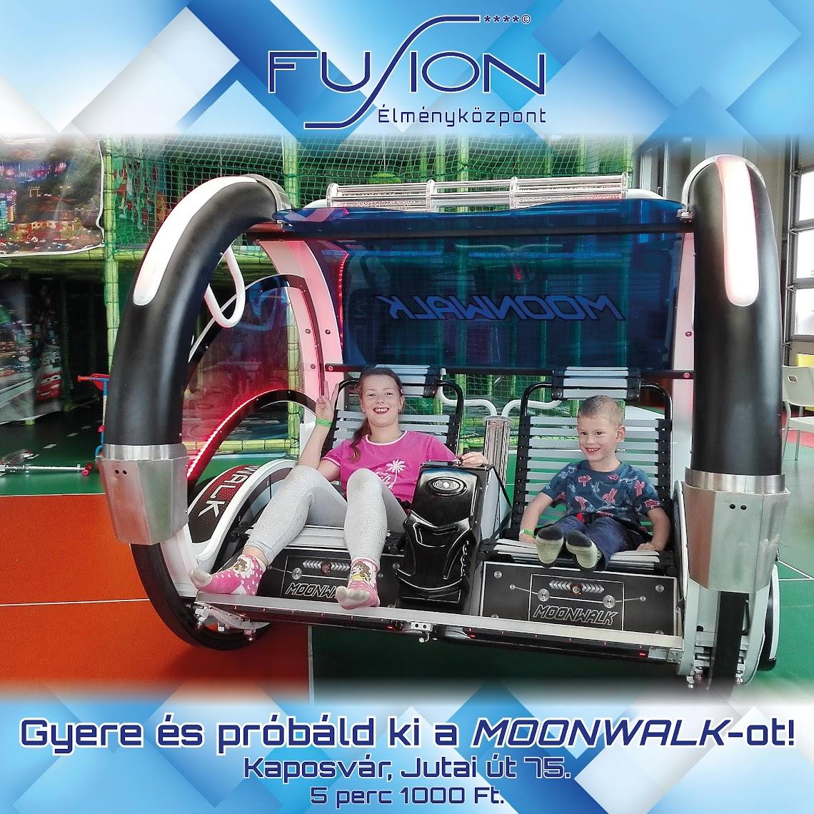 Moonwalk - Holdjáró - Kaposvár - Fusion Szórakoztatóközpont 2018