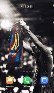 Messi Wallpapers & Fondos Screenshot