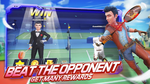 Badminton Blitz - 3D Multiplayer Sports Game apkdebit screenshots 3