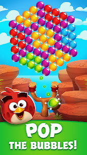Angry Birds POP Bubble Shooter MOD (Unlimited Gold/Lives/Gems/Boosters) 4