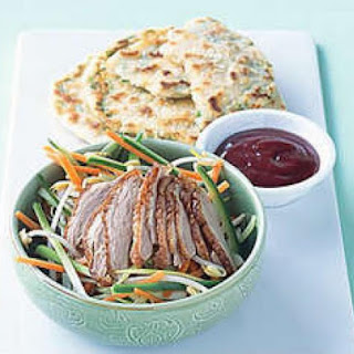 Green Onion Pancakes With Duck