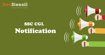 The official SSC CGL Notification 2017 has released