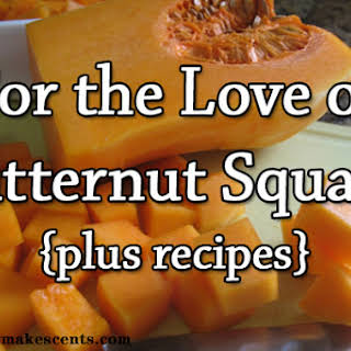 5-ingredient Butternut Squash Mac and Cheese.