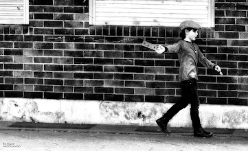 Photo: JUST A KID, WALKING DOWN THE LINE ...   I Walk The Line - Johnny Cash (Newport 1964)  have a good night.                 #10000photographersbwmonochrome by +Robert SKREINER and myself +10000 Photographers BW Monochrome