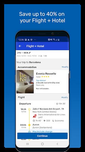 eDreams: Book cheap flights and travel deals 4.177.1 screenshots 3