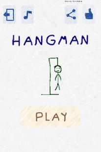 Hangman-English - náhled