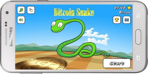 Bitcoin Snake - náhled