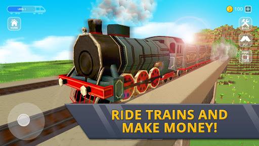 Railway Station Craft: Magic Tracks Game Training 1.0-minApi19 screenshots 5