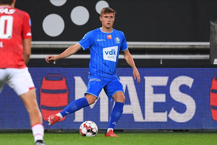 Alessio Castro-Montes heeft nog iets goed te maken bij de fans van AA Gent!