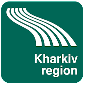 Kharkiv region Map offline