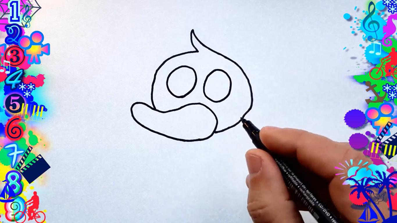 como dibujar un pato kawaii paso a paso