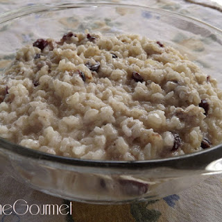 LTG Creamy Rice Pudding