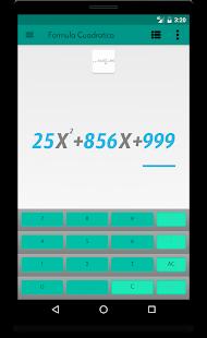 Mathematical formulas - náhled