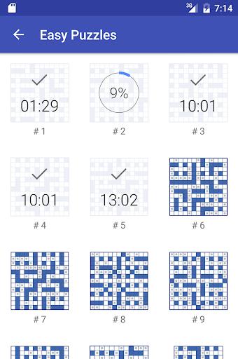 Codeword Puzzles (Crosswords) 3.10 screenshots 4