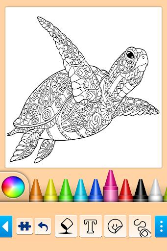 Mandala Coloring Pages filehippodl screenshot 11