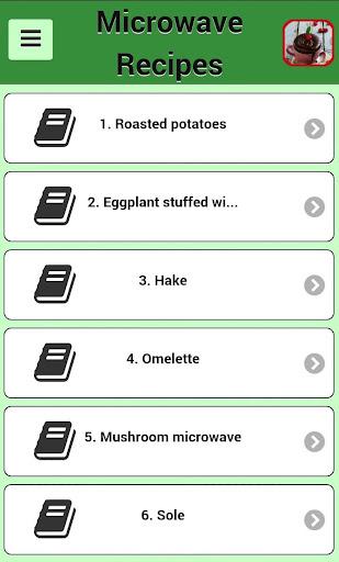 電子レンジのレシピ