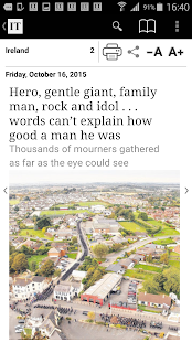 Irish Times ePaper- screenshot thumbnail