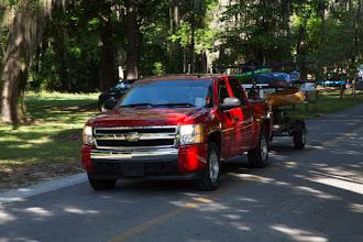 Photo: the caravan begins