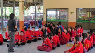 Photo: Baan Buak Kang School, Sankampeang