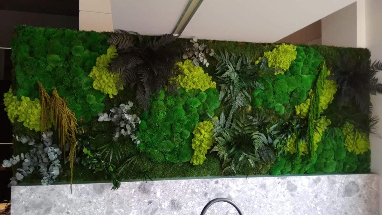 Jardín Vertical del planta conservada