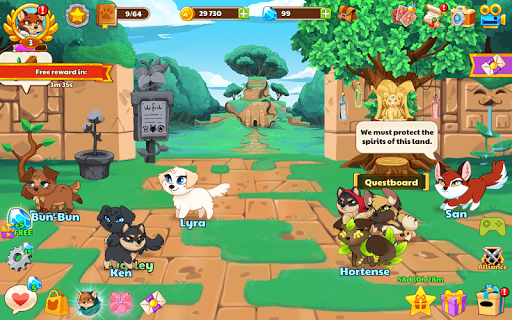Dungeon Dogs - Idle RPG  screenshots 7