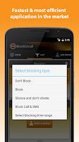 Screenshot of Blacklistcall -Block numbers