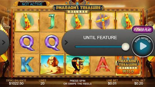 Casino Free Reel Game - PHARAOHS TREASURE DELUXE 1.0.1 screenshots 3