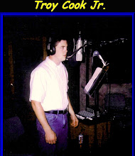 """Photo: Troy recording """"Oceans Of Love"""", a song written by Larry Wheeler of Houston"""