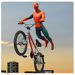 Spider Hero Roof Stunt