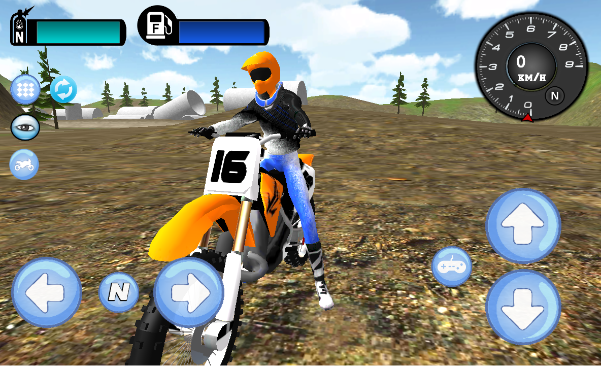 Stunt Motorbike Race 3D- screenshot
