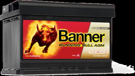 Banner Running Bull -AGM 12v 70Ah