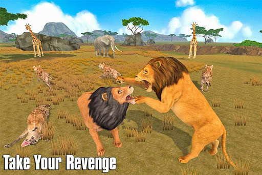 The Lion Simulator: Animal Family Game 1.0 screenshots 14