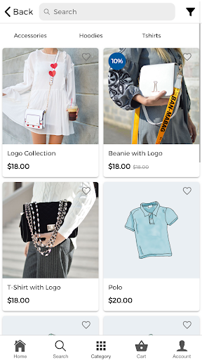 ionic 5 app for woocommerce screenshot 3