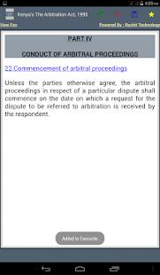 Kenya's The Arbitration Act, 1995 - náhled