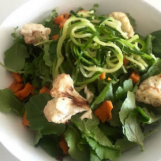 Use Your Leftover Roasted Veggies to Make a Seasonal Salad.