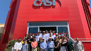 Foto de familia en la CASI.