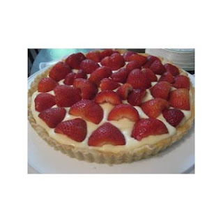 Brown Sugar Strawberry Tart