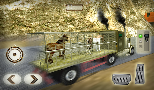 Wild Horse Zoo Transport Truck Simulator Game 2018  screenshots 12