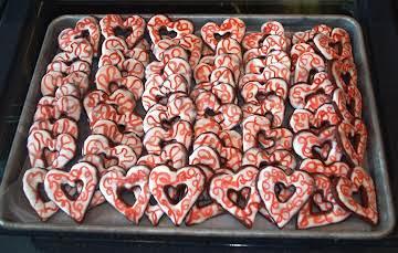 Valentine Chocolate Jumbles