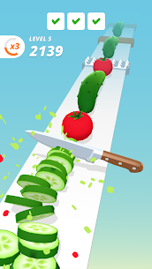 Perfect Slices Mod Apk V1.2.7(Unlimted Money) 2