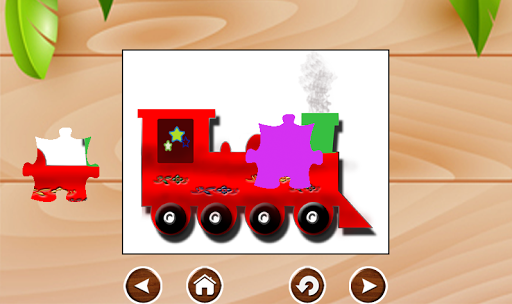 Train Jigsaw For Kid