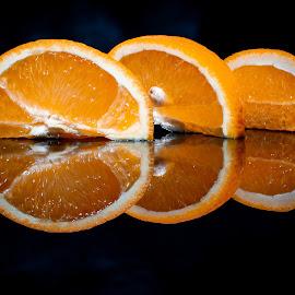 Oranges by Adrian Minda - Food & Drink Fruits & Vegetables ( orange, fruits, macro photography, close, food )
