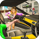 US Taxi Driver 2019 - Free Taxi Simulator Game icon