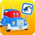 Carl the Super Truck Roadworks: Dig, Drill & Build