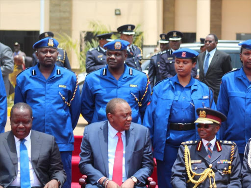 We are in trouble': Blue police uniform puzzles Kenyans